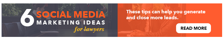 6 Social Media Marketing Ideas for Lawyers